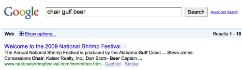 Homesick (or beachsick?) googling. Frankly, Google is genius for reading my mind and putting this together.
