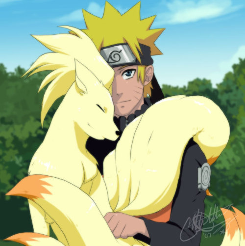 Naruto-Pokemon: 18 Tails by *EiffelArt on deviantART