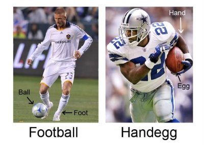 zideshowbob:  Football vs. Handegg (via hidekiryuga)