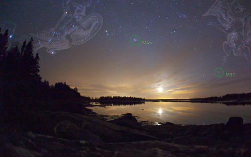alontods:  via antwrp.gsfc.nasa.gov Moonset Over Pleasant Bay