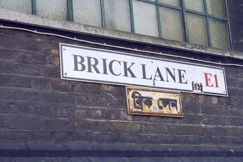 Brick Lane. Click.