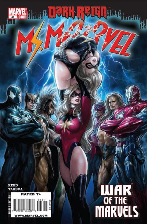 0464. Ms. Marvel v2 #44, October 2009, written by Brian Reed, penciled by Sana Takeda My Score: 7.9