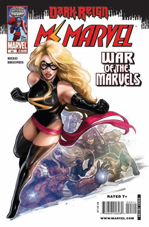 0465. Ms. Marvel v2 #45, November 2009, written by Brian Reed, penciled by Phil Briones My Score: 8.2