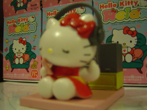 Hello Kitty RELAX Collectible Figure