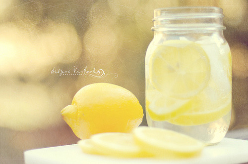 If life throws you a lemon - make lemonade. Joan Collins (via avanhook)