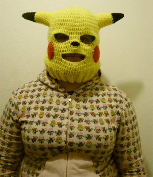 gamefreaksnz:  gamefreaksnz:  Pikachu convertible ski mask by =Sugarcoatidli3z on deviantART It puts the lotion on its skin, or else it gets the hose again.    I'm literally dying of laughter, holy fuck.