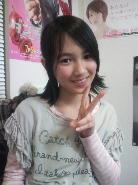 デビューしたての、宮武美桜。