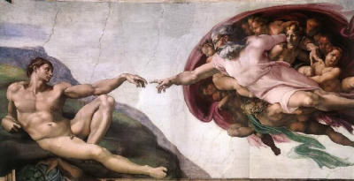 MichelangeloThe Creation of Adam, 1511The Sistine Chapel Ceiling, Vatican City