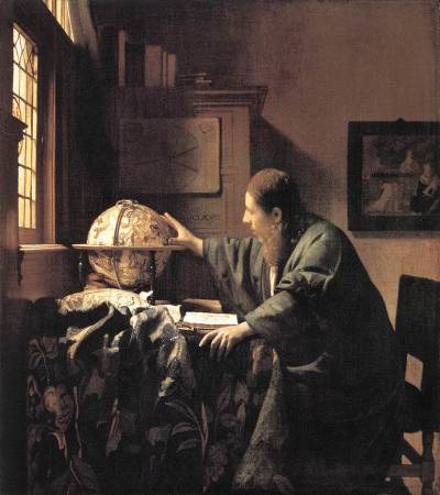 The AstronomerVermeer, 1668Oil on CanvasLouvre, Paris