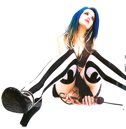 anotherwaytowonderland:  deadgothamcity:  Alissa White-Gluz of The Agonist