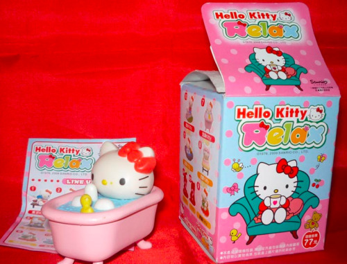 Hello Kitty RELAX Collectible Figure Blind-Box Series
