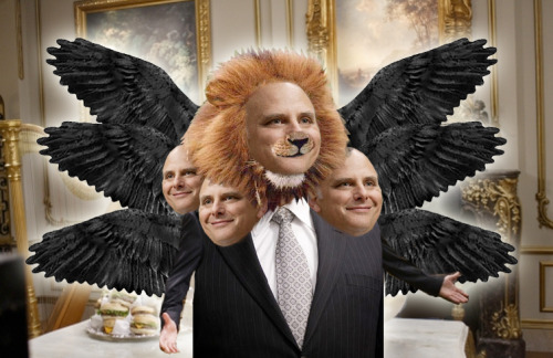 "jooleah:  ""In Heaven I have six wings and four faces, one of which is a LION."""