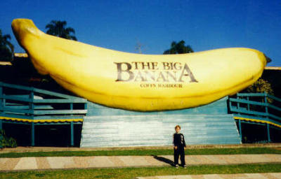 World's biggest banana!