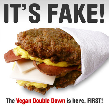 The Vegan Double Down