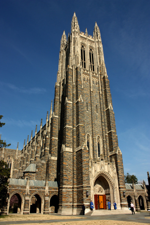 Duke Chapel (via tz5b)