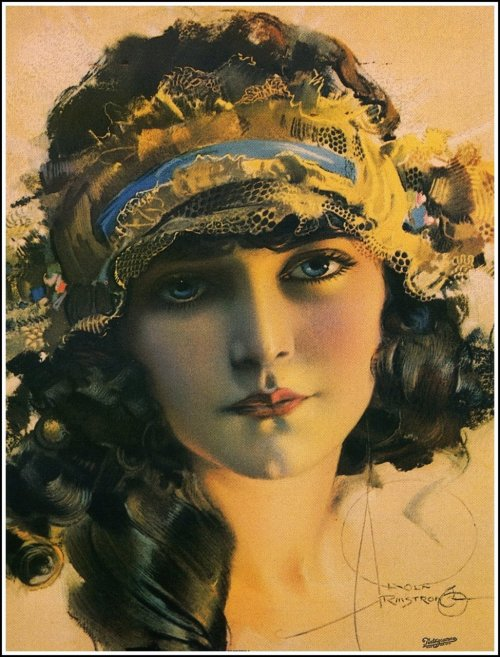 liquidnight:  Rolf Armstrong [via Vintage Spirit]