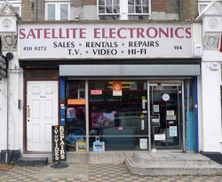 Satellite Electronics, Cricklewood Broadway NW2
