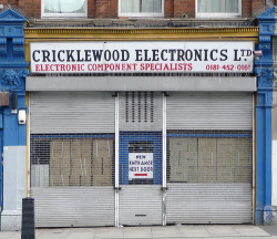 Cricklewood Electrical Components, Cricklewood Broadway NW2