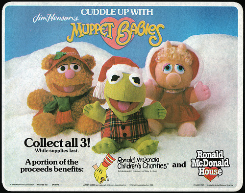 McDonald's Muppet Babies Stuffed Animals