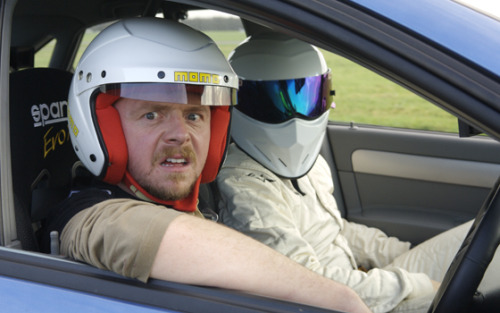 fysimonpegg:  simonpeggandnickfrost:  via fuckyeahtopgear   hello hello. this is my good morning face. Good Morning Simon Pegg lovers :D