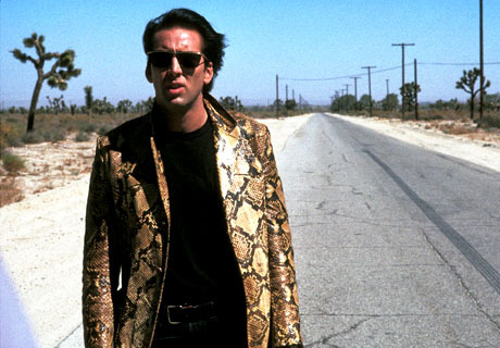 Nicholas Cage as Sailer Ripley in Wild at Heart.