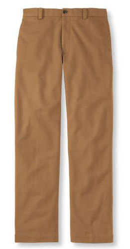 It's On Sale L.L. Bean Town and Field Pants, Brushed Twill Also on sale are the wool flannel version.  Both are excellent utility pants.  I had some coupons for LL Bean, and went back and forth about which to get, until I finally ended up getting one of these. $29.99 (Originally $59.50)