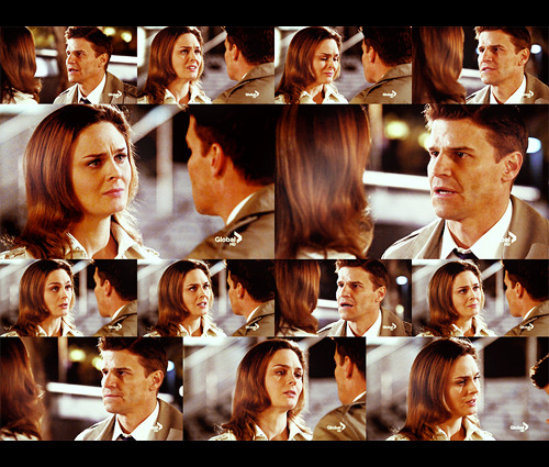 "Brennan: No. No!Booth: Why? Why?Brennan: You thought that you're protecting me, but you're the one who needs protecting.Booth: Protecting from what?Brennan: From me! I don't have your kind of open heart.Booth: You just give it a chance. That's all I'm asking.Brennan: No, you said it yourself. The definition of insanity is doing the same thing over and over again, and expecting a different outcome.Booth: Well, let's go for a different outcome here. Alright, let's just… hear me out here. You know when you talk to older couples who've been in love for 30, or 40, or 50 years, alright, it's always the guy who says: ""I knew."" I KNEW. Right from the beginning.Brennan: Your evidence is anecdotal.Booth: I'm that guy. Bones, I'm that guy. I know.Brennan: I… I am not a gambler. I'm a scientist. I can't change. I don't know how. I don't know how. Please don't look so sad. Bones"
