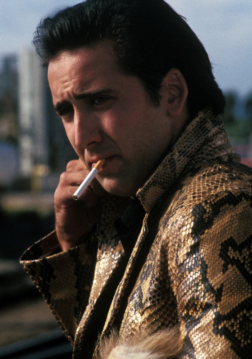 Nicholas Cage as Sailor Ripley in David Lynch's Wild at Heart.