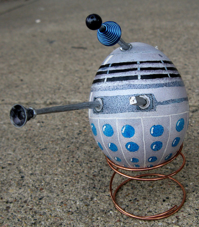 Dalek egg (via PugnoM)