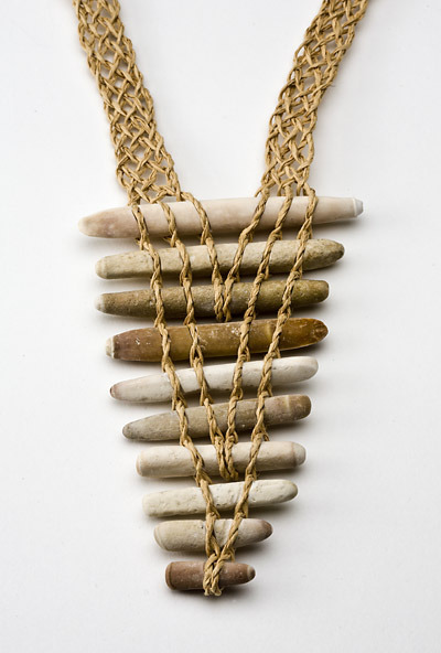 fuckyeahfiberarts: Necklace by Kay Sekimachi.