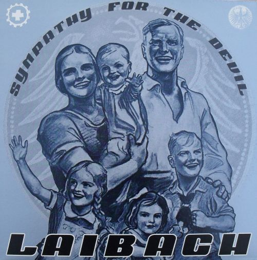 "LAIBACH - Sympathy for the Devil flicking through my (12"") singles"