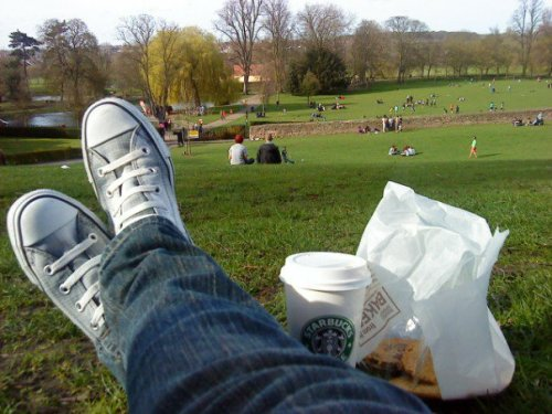 Sunny saturday aftee in the park :)