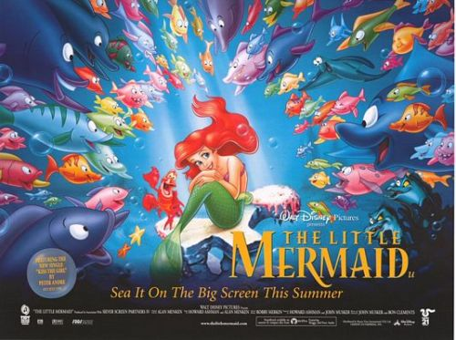 fuckyeahmovieposters:  The Little Mermaid