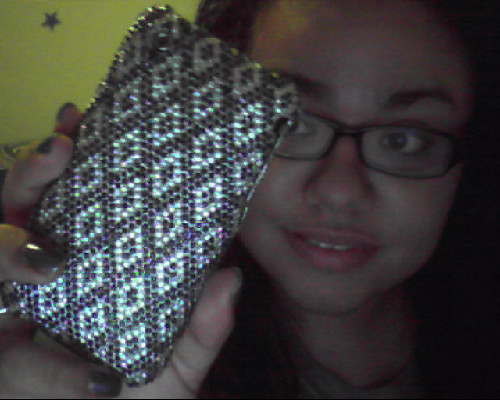 I love my blinged out iPhone! :)