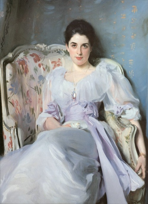 designlovely:  Pandora » Sur le Pont.  God I love me some Sargent. I think this might be my fave of his.