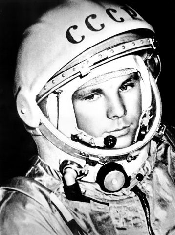 i12bent:  On April 12, 1961, Major Yuri Gagarin became the first human to travel into outer space, onboard the Soviet spacecraft Vostok 1…