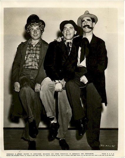 "The Marx Brothers ""Room Service"", 1938"