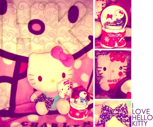 hello kitty gifts that my friends gave me. Submitted by charchar27