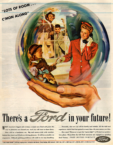 suddenly:  ford ad 1945 (via actionlog)