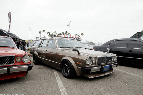 wagonsandhatches:  pacepirate:  never knew this generation of cressidas came in the wagon format.   Some people will hate on this chocolatey Cressida wagon because it's clearly undriveable.  I respectfully submit that they're missing the point.