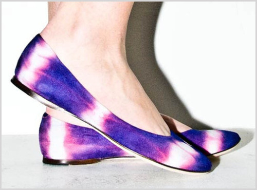 simko:  Tie Dye Flats designed by Reed Evins… Available here.