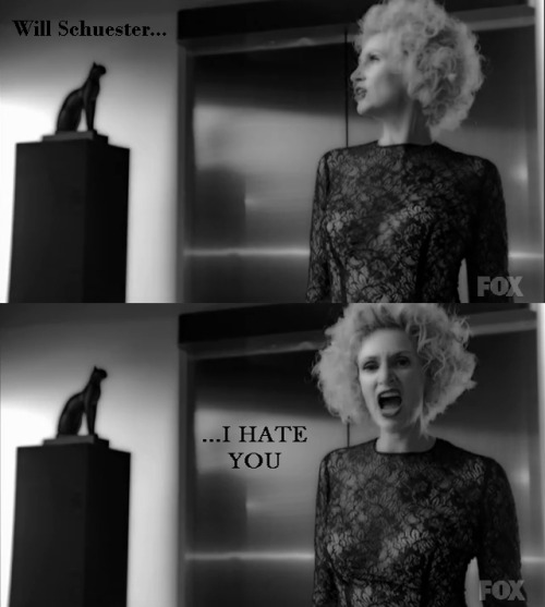 "I was starting to worry about Sue… until this part. Ahahahaha Glee - ""Vogue"""