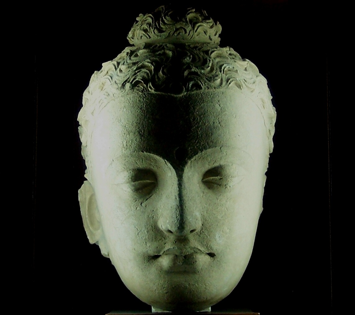 Buddha Head, Jaulian 2nd-4th century CE (by fezaizm) Taxila Museum (via sirobtep: goingoutsidethebox: nemoi:)