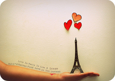 From we♥it Annick's Idiosyncrasy No. 15 Paris, France is love.