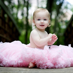 iheartbaby:  Angel Pink Solid Color Pettiskirt here
