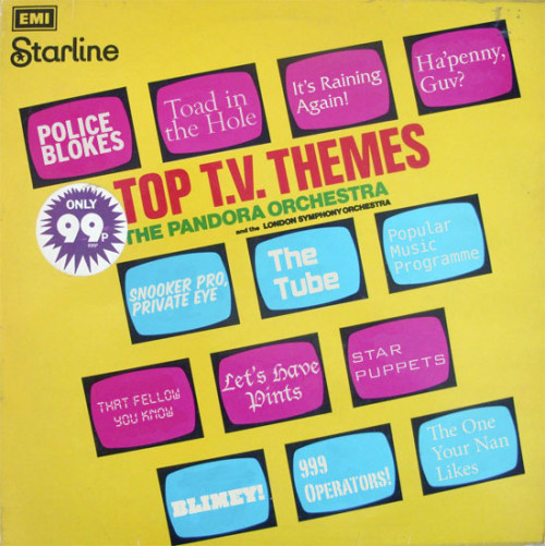 THRIFT SHOP FIND: British TV Themes, by Mr. Kevin Eustace Church, O.B.E.