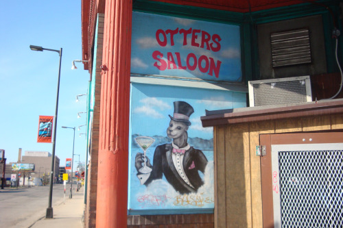 stuffaboutminneapolis:  U Otter Stop Inn, Minneapolis by Me This is for You Otter Read This Blog. Otters put in people type situations mixed with MS Paint is always a win.  Paul, I feel like you, and this bar, totally get me.