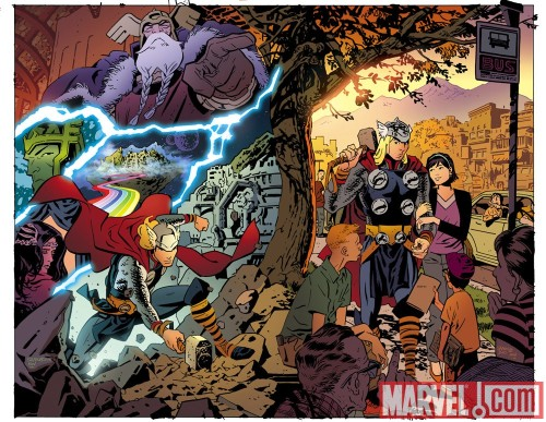 Thor: The Mighty Avenger by Roger Langridge and Chris Samnee provide a  new and iconic take on the God of Thunder
