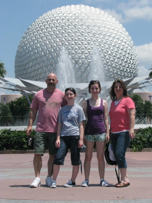 I love this picture of my family. Commence possible Disney spam!