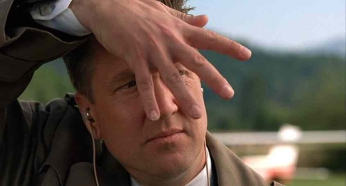 David Lynch as Special Agent Gordon Cole in Twin Peaks: Fire Walk With Me.